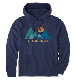 Life is Good LIG M Simply true hoodie Mountains
