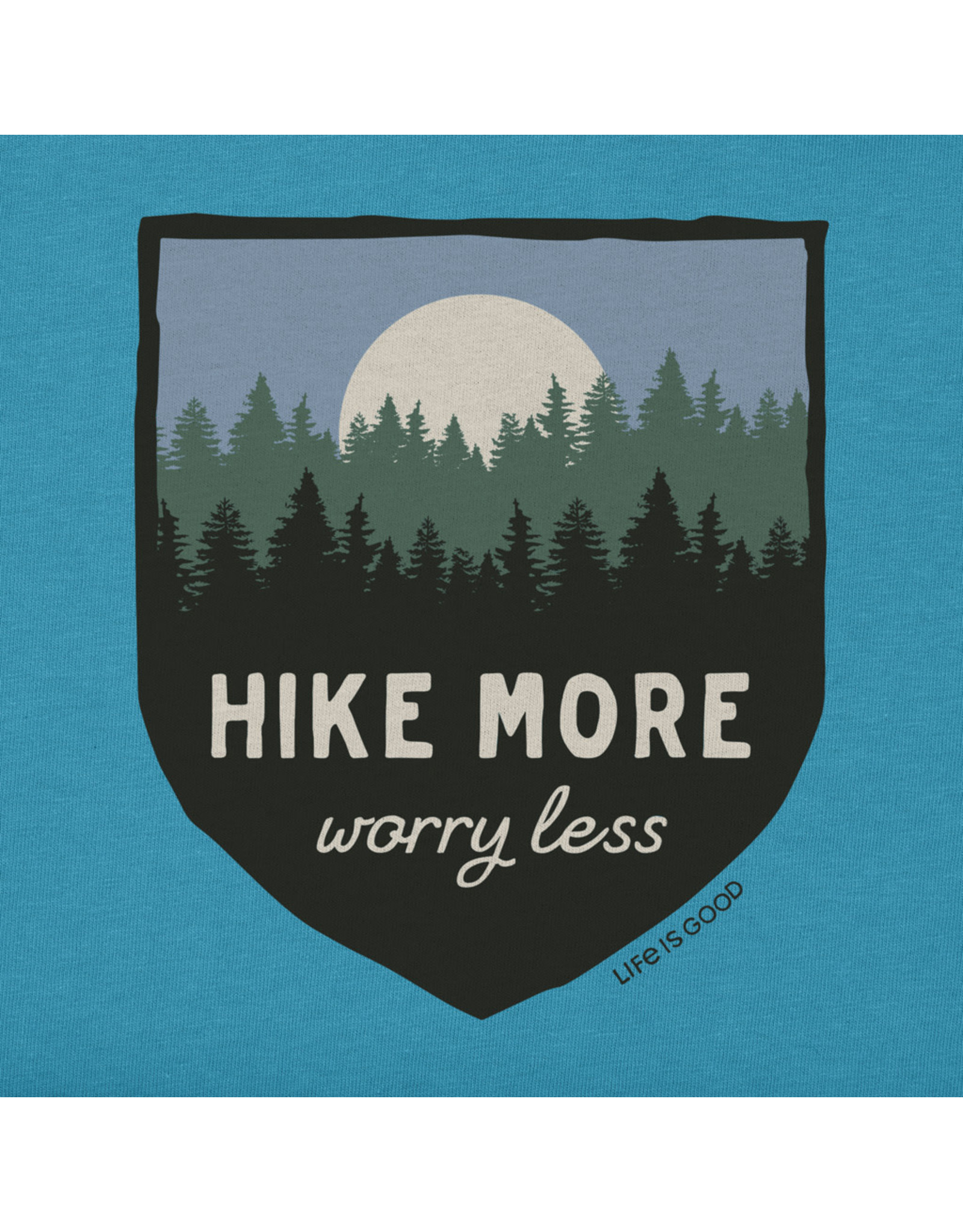 Life is Good LIG W Crusher vee Hike more S19