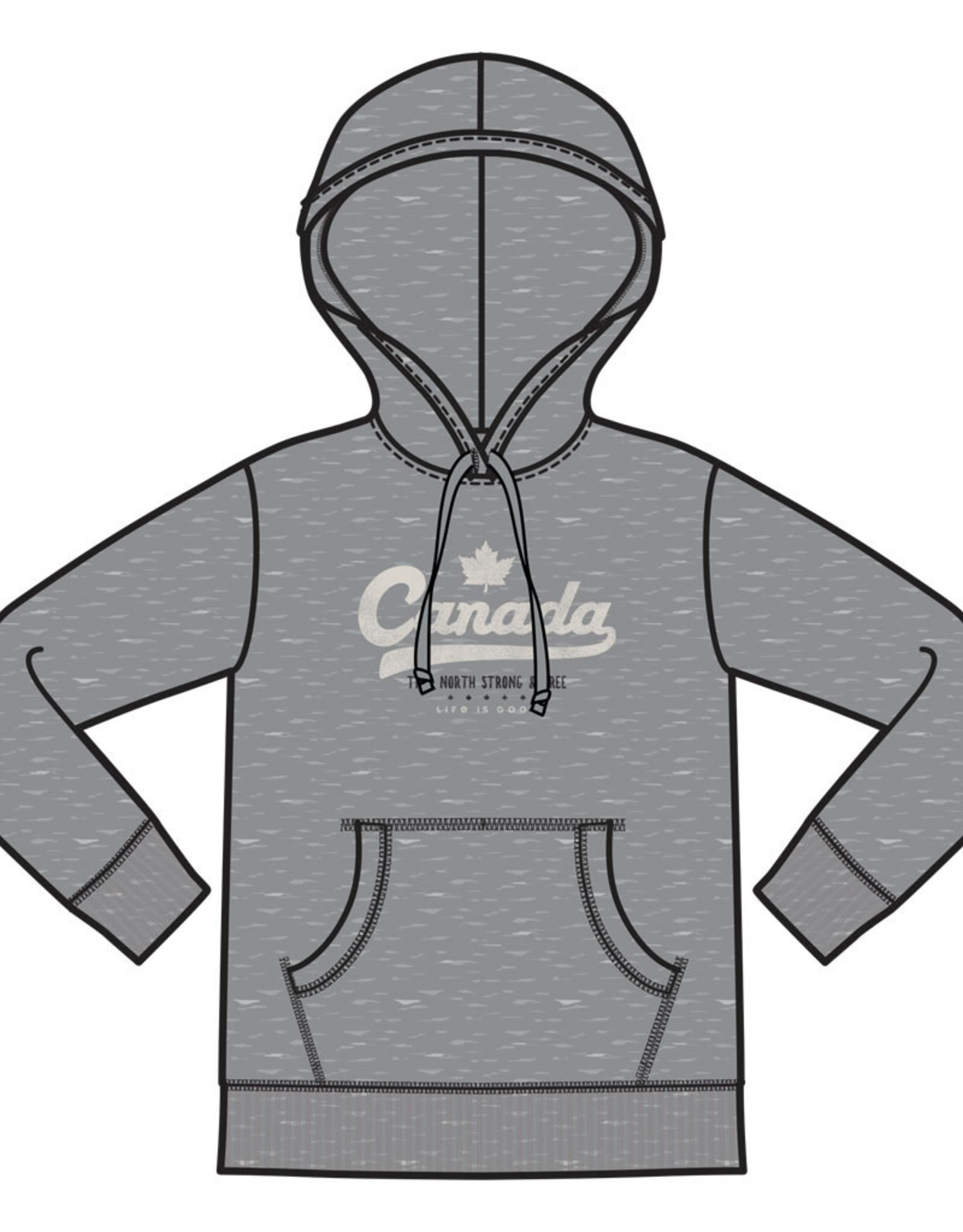 Life is Good LIG W Simply true hoodie Canada tailsweep S19