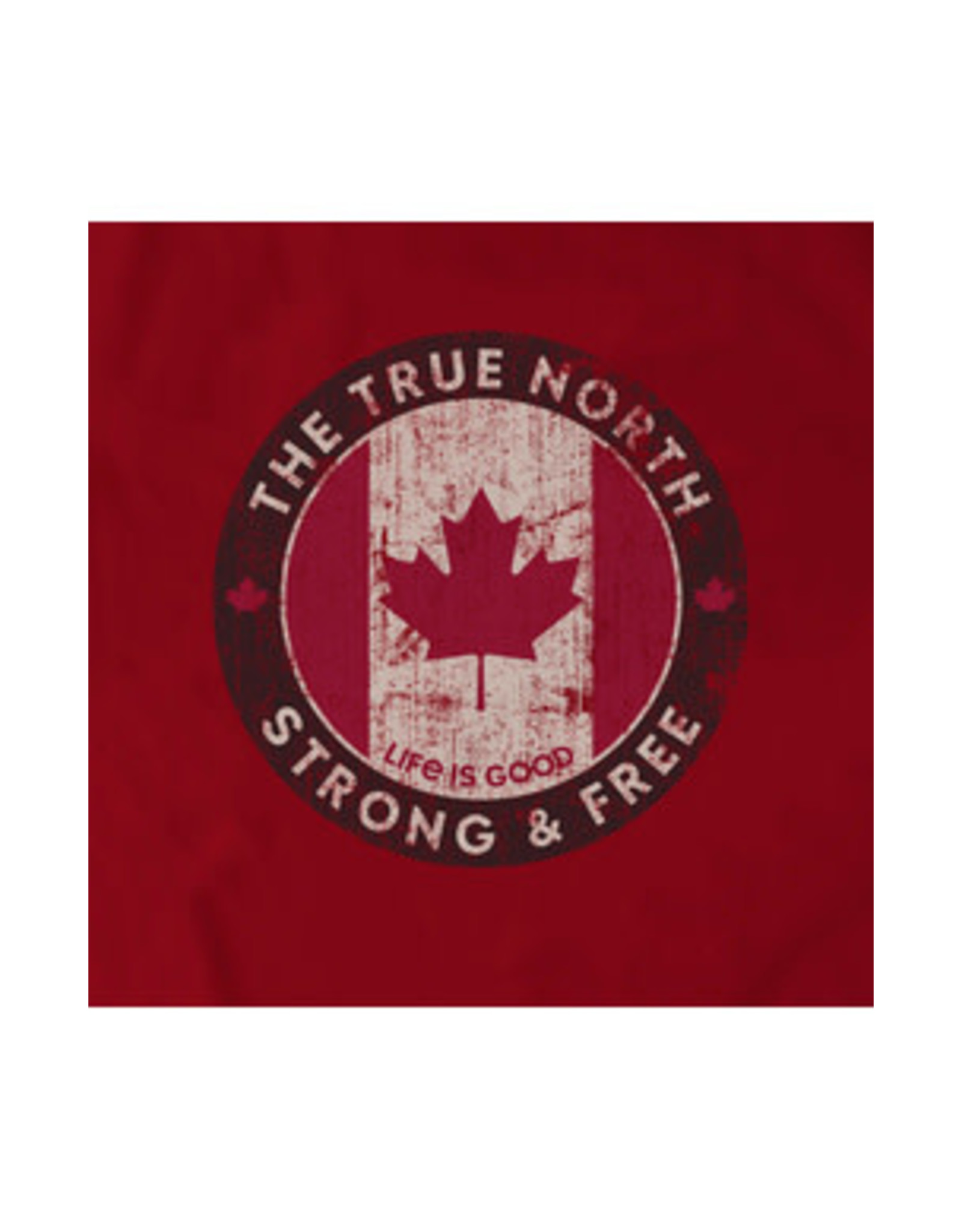 Life is Good LIG M Crusher tee Canada strong free S19
