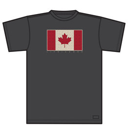 Life is Good LIG M Crusher tee Canada flag