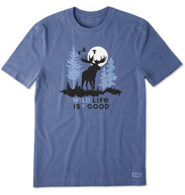 Life is Good LIG M Crusher tee Wildlife moose