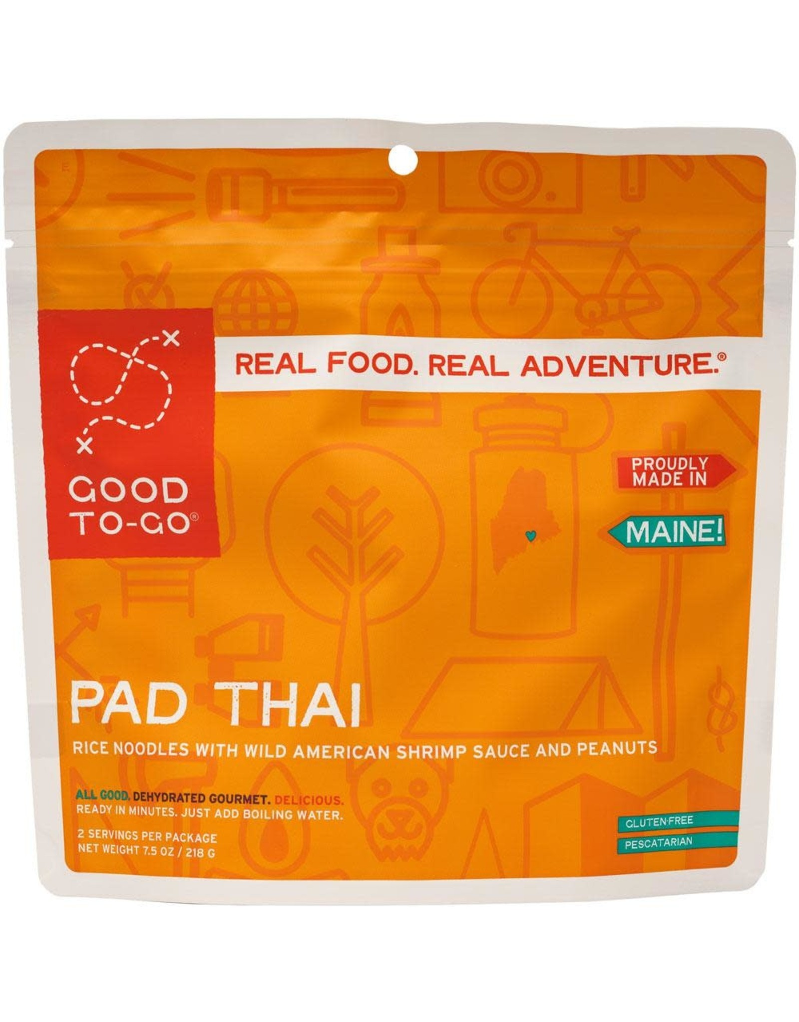 Good To-Go Meals S19 Pad Thai 218g