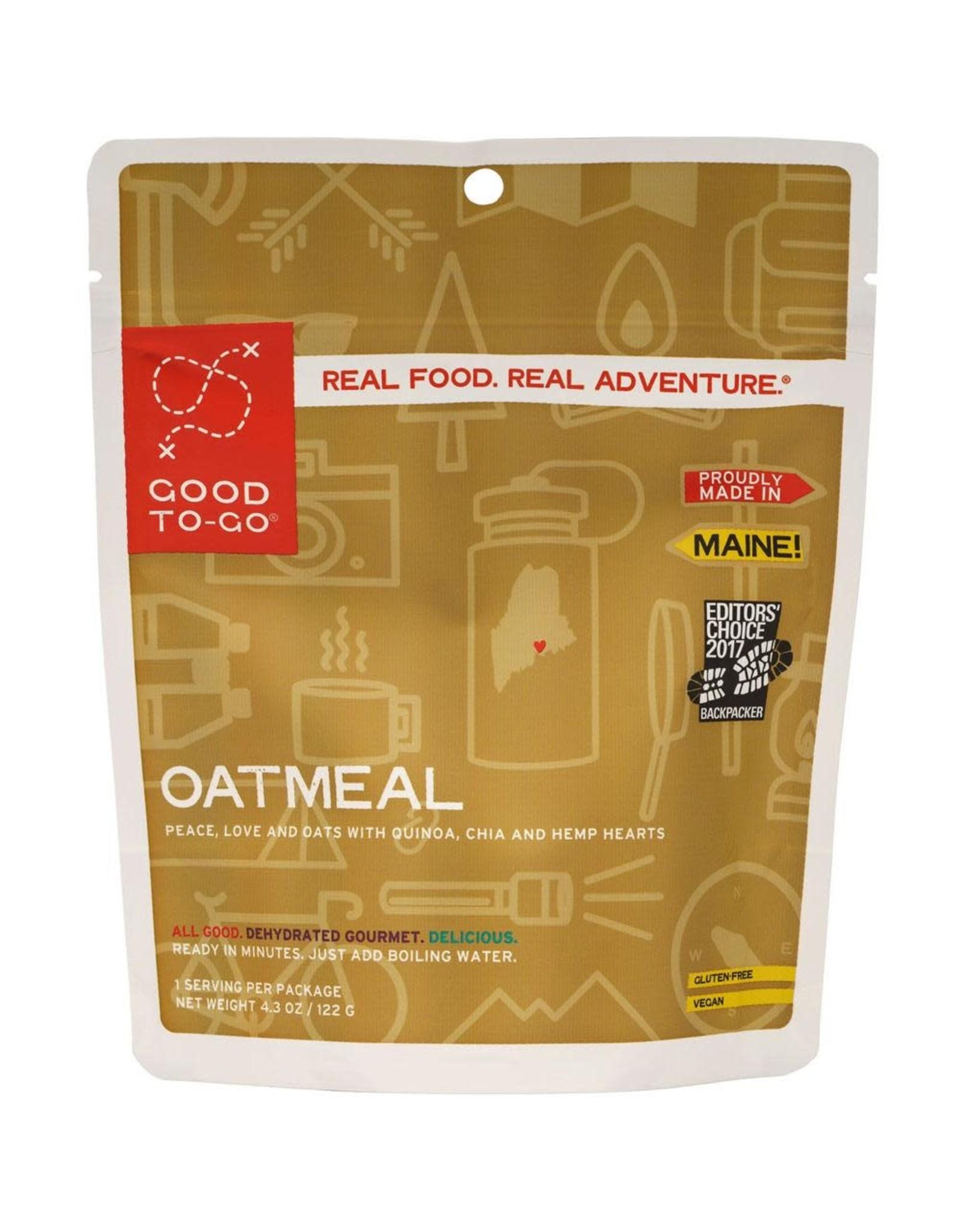 Good To-Go Breakfast S19 Oatmeal 122g