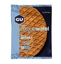 GU GU Stroopwafel Gluten Free Wild Berries single