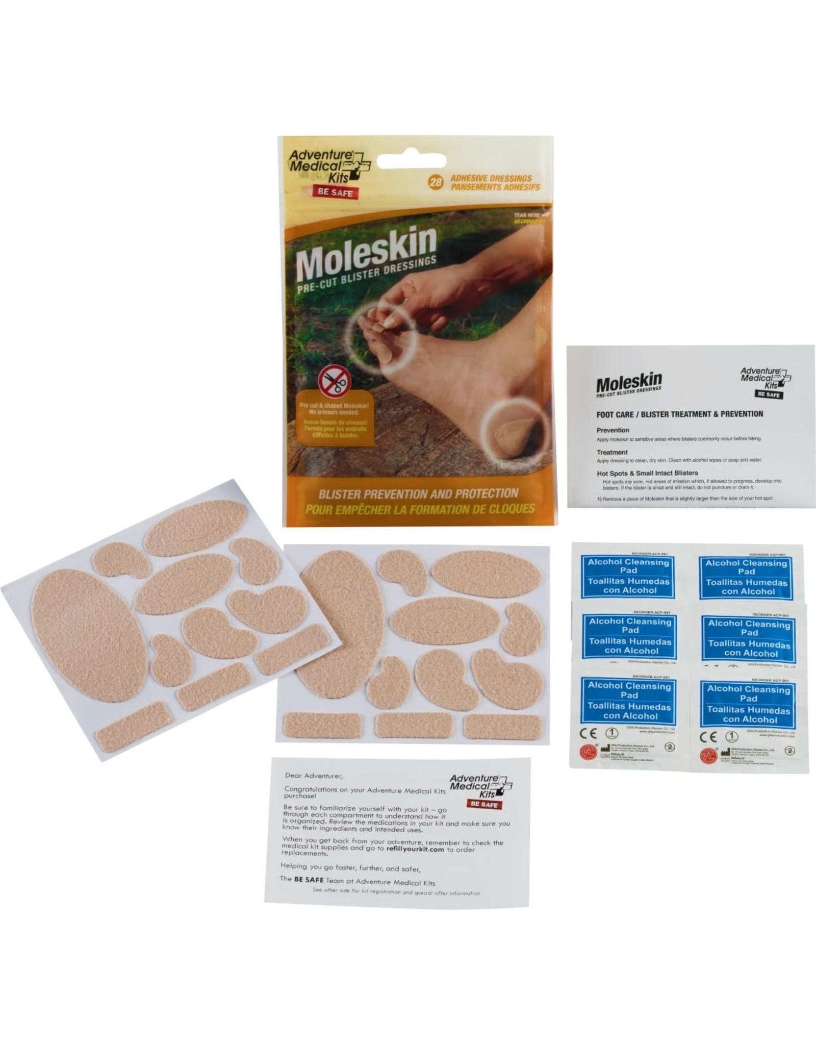 Adventure Medical Kits AMK Moleskin Pre-cut and Shaped S19