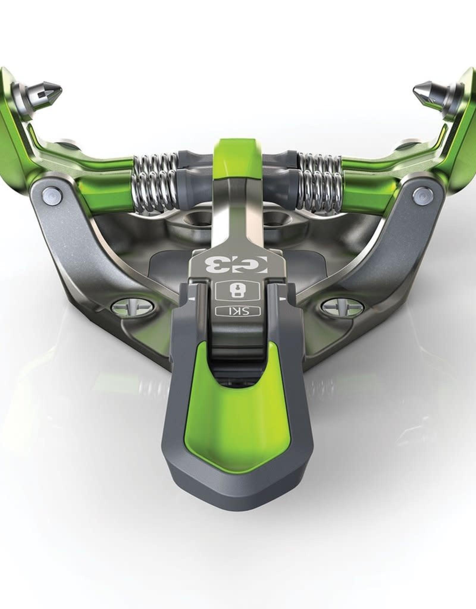 G3 G3 Zed 12 Bindings no brakes F19