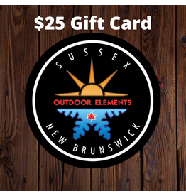 $25 Gift Card - Outdoor Elements