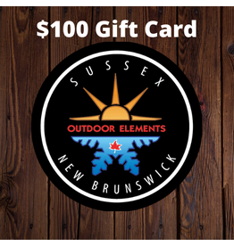 $100 Gift Card - Outdoor Elements