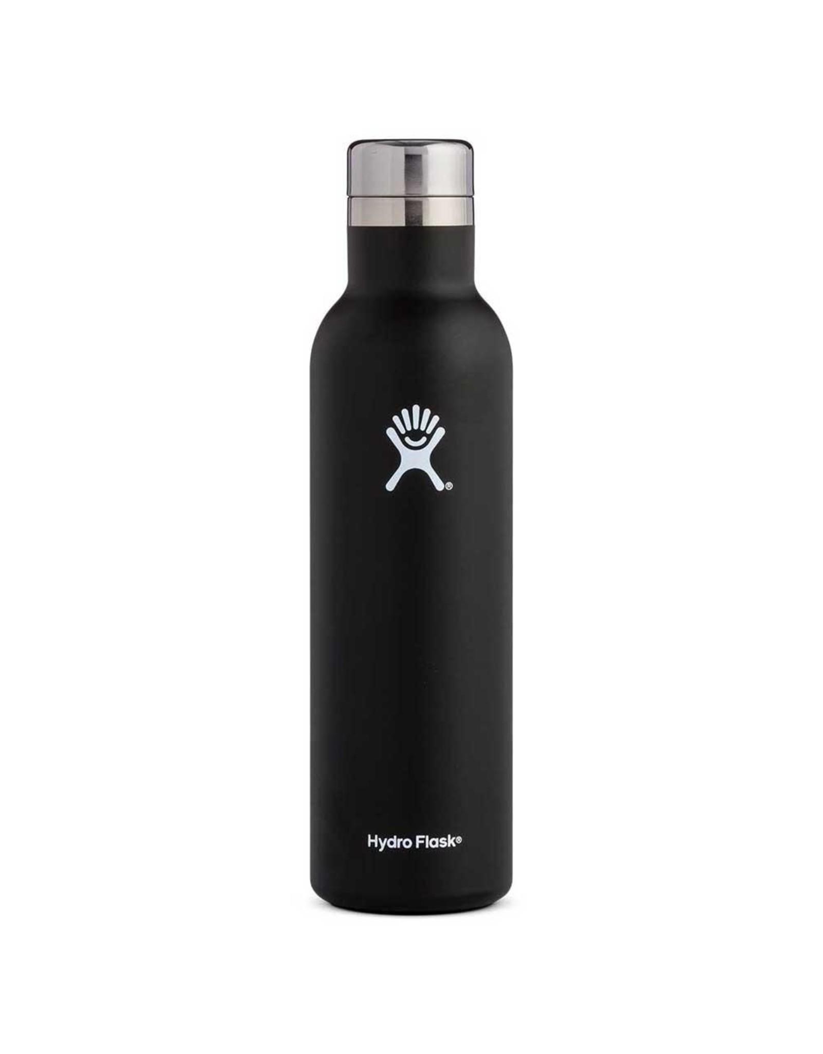 Hydro Flask Hydro Flask Wine Bottle 25oz Black