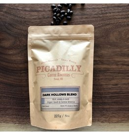 Picadilly Coffee Dark Hollows - Whole Bean - 454g