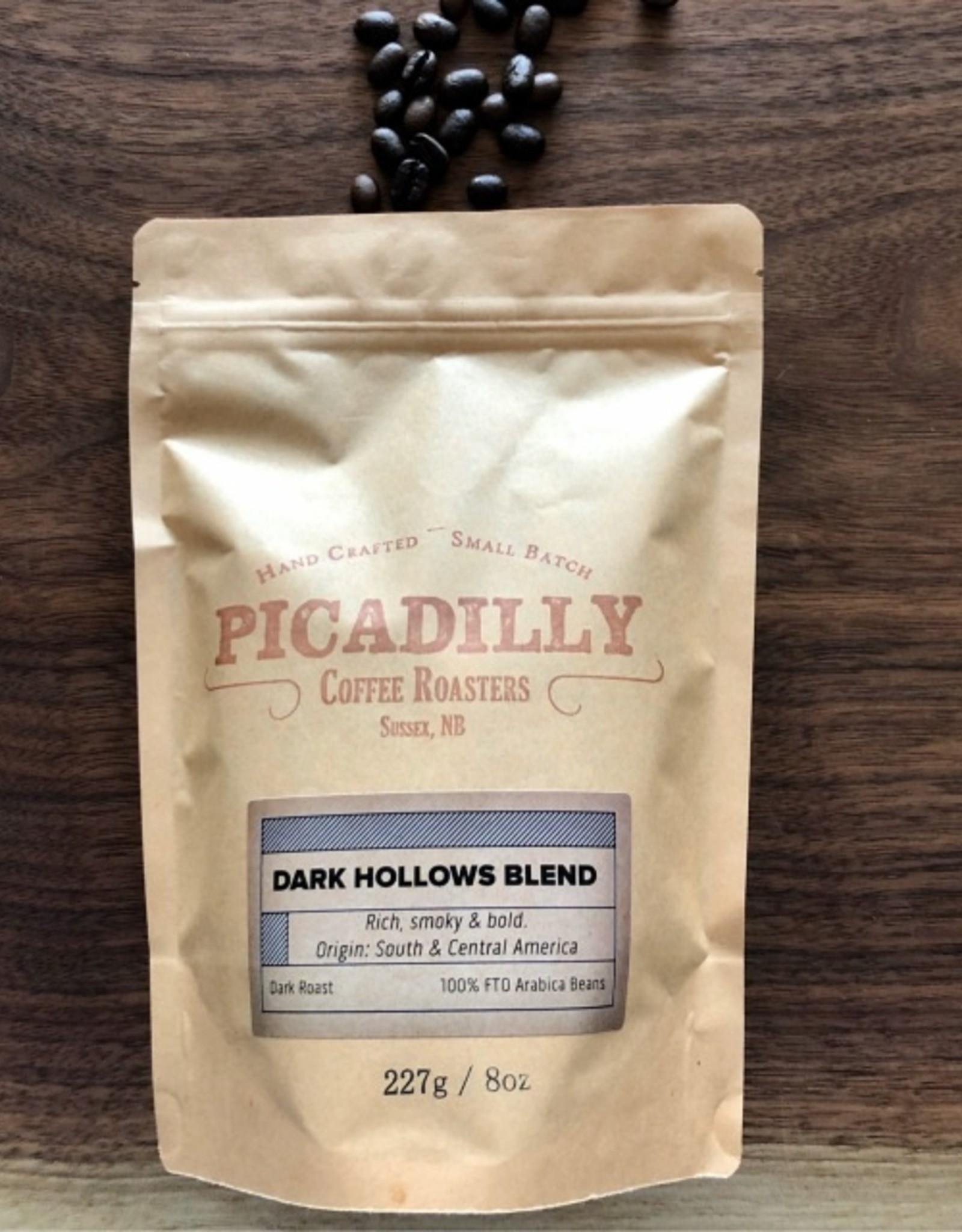Picadilly Coffee Dark Hollows - Ground - 454g