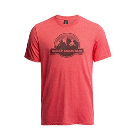 Rocky Mountain Rocky Mountain Dots Logo T-Shirt - Red