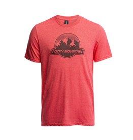 Rocky Mountain Rocky Mountain Dots Logo T-Shirt - Red