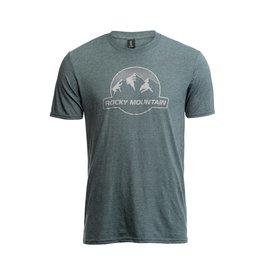 Rocky Mountain Rocky Mountain Dots Logo T-Shirt - Woods