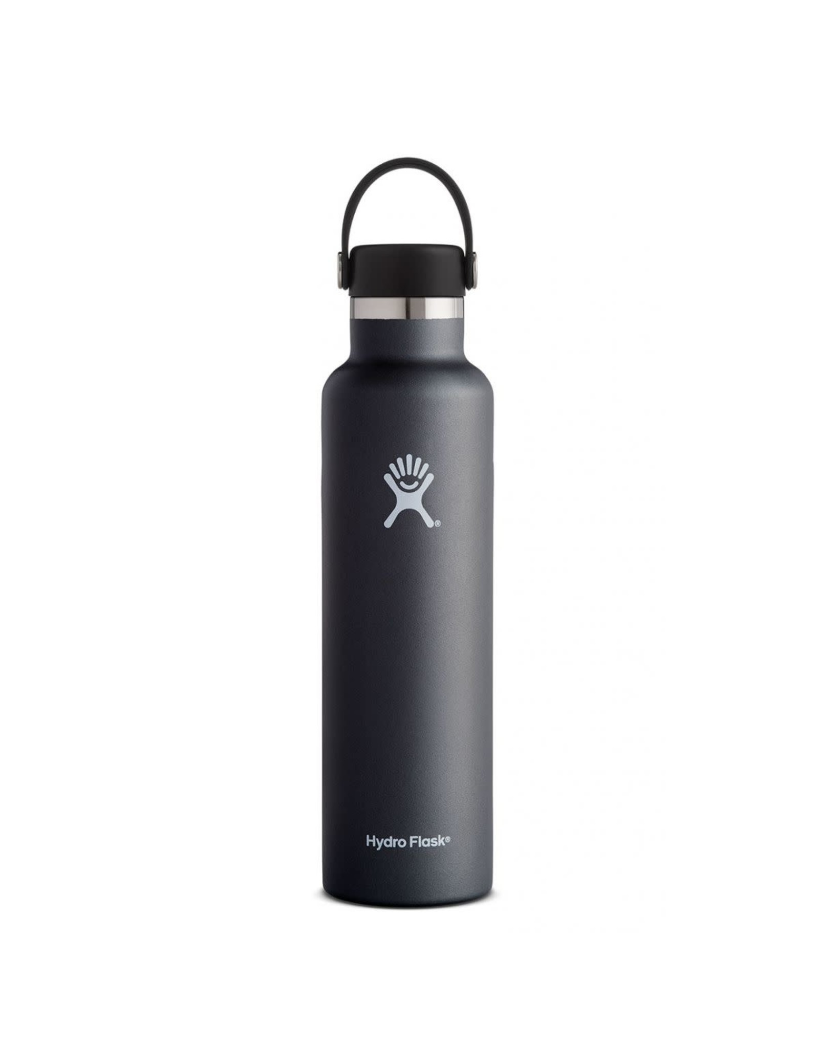 Hydro Flask Hydro Flask 24oz Standard Mouth with Flex Cap Black