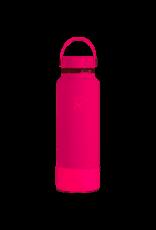 Hydro Flask Hydro Flask 40oz Wide Mouth Flex Cap with Boot Bubblegum