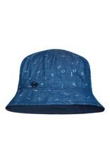 Buff Buff Kids Bucket Hat Arrows Denim