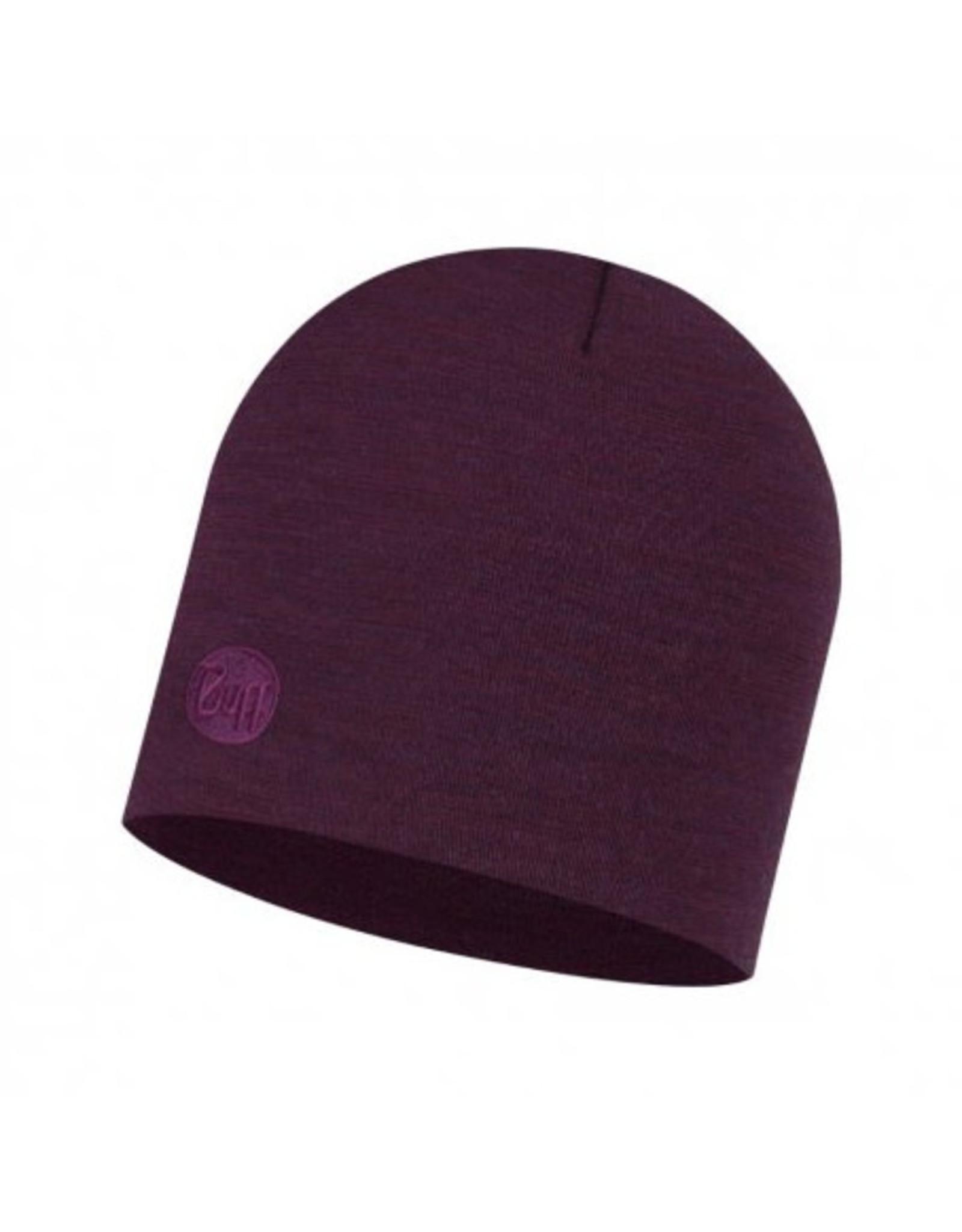 Buff Buff Heavyweight Merino Hat Purplish Multi