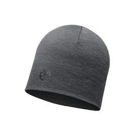 Buff Buff Heavyweight Merino Hat Solid Grey