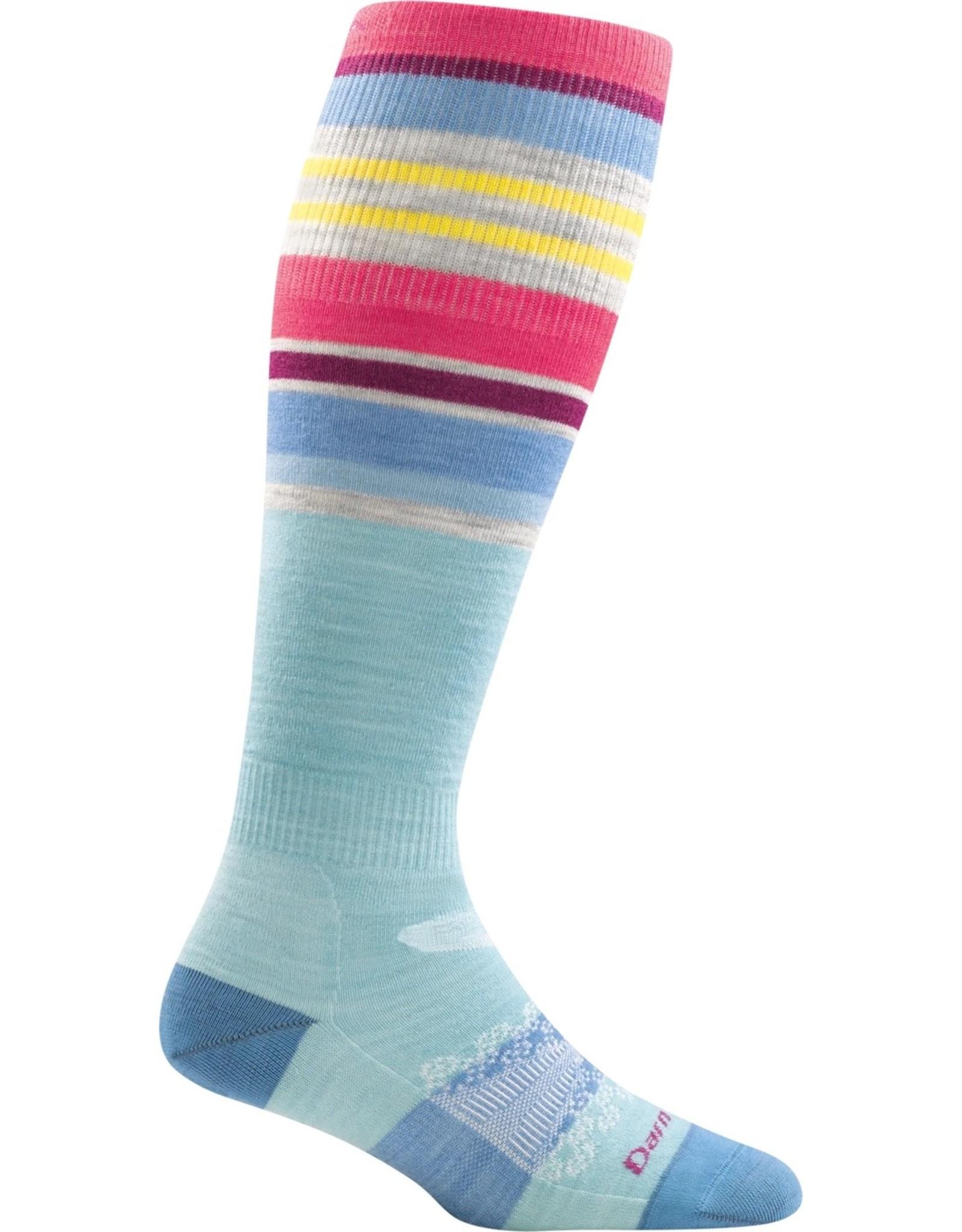 Darn Tough Darn Tough Glacier Stripe OTC Lightweight Women's Socks