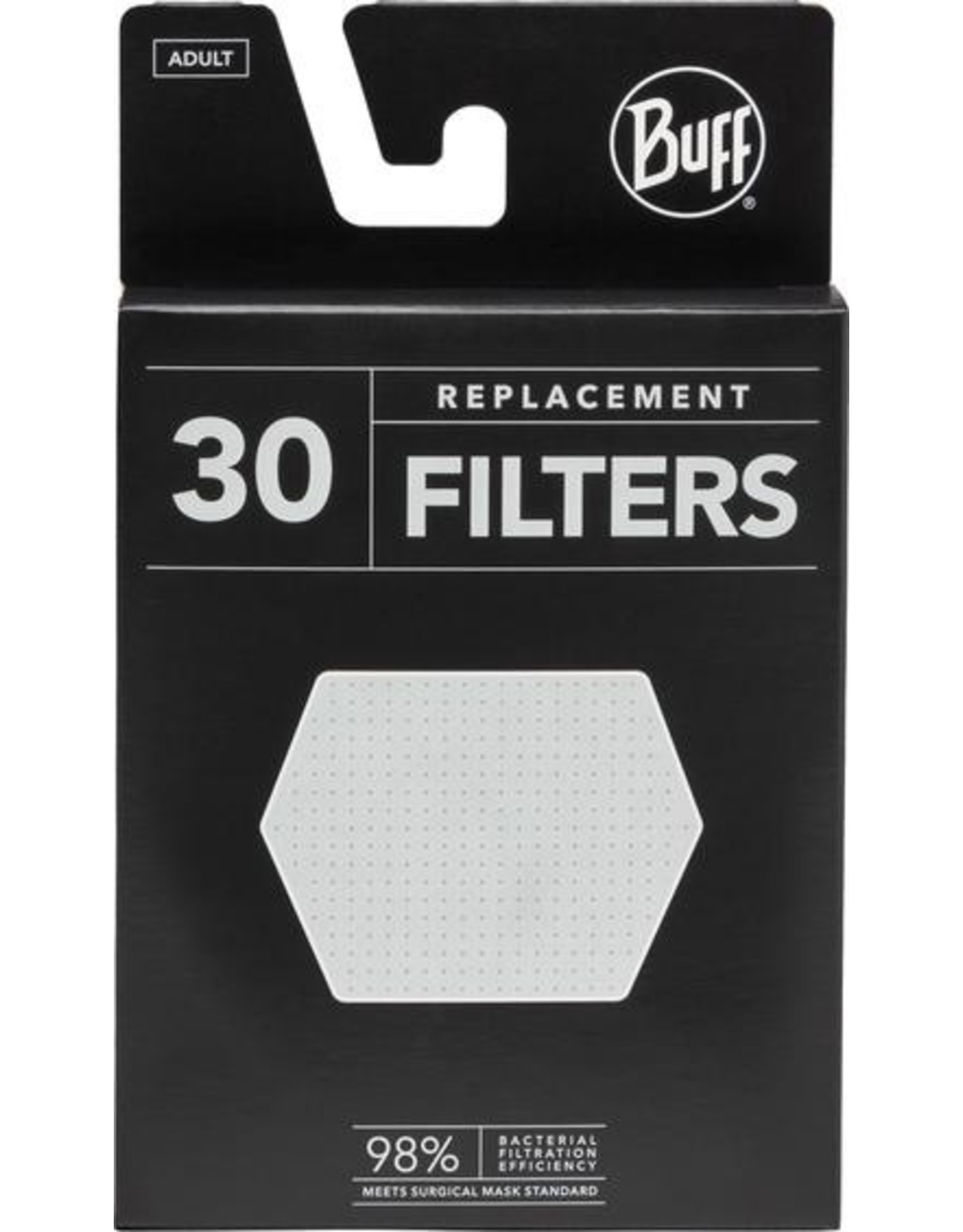 Buff Buff Filter 30 Adult White