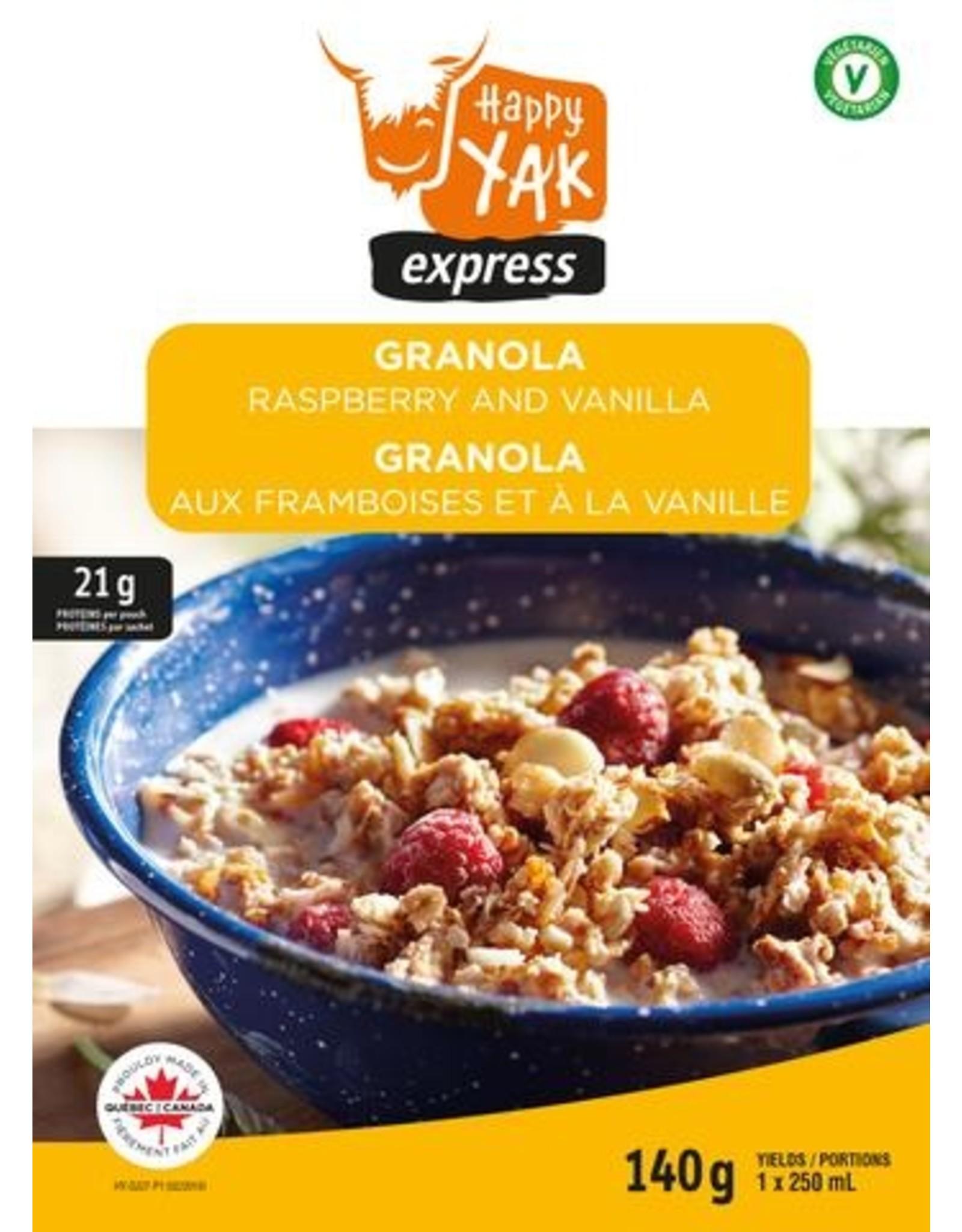 Happy Yak Happy Yak Raspberry & Vanilla Granola