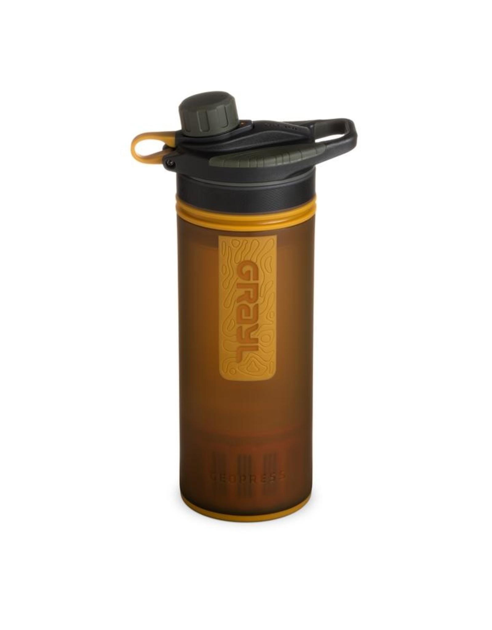 Grayl Grayl Geopress Water Purifier Coyote Amber