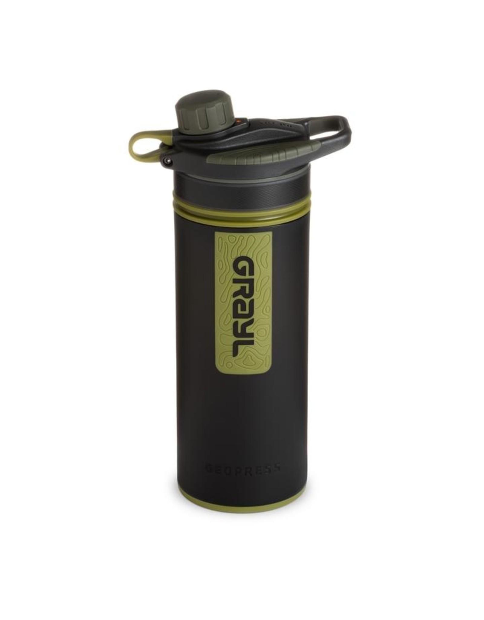 Grayl Grayl Geopress Water Purifier Camo Black