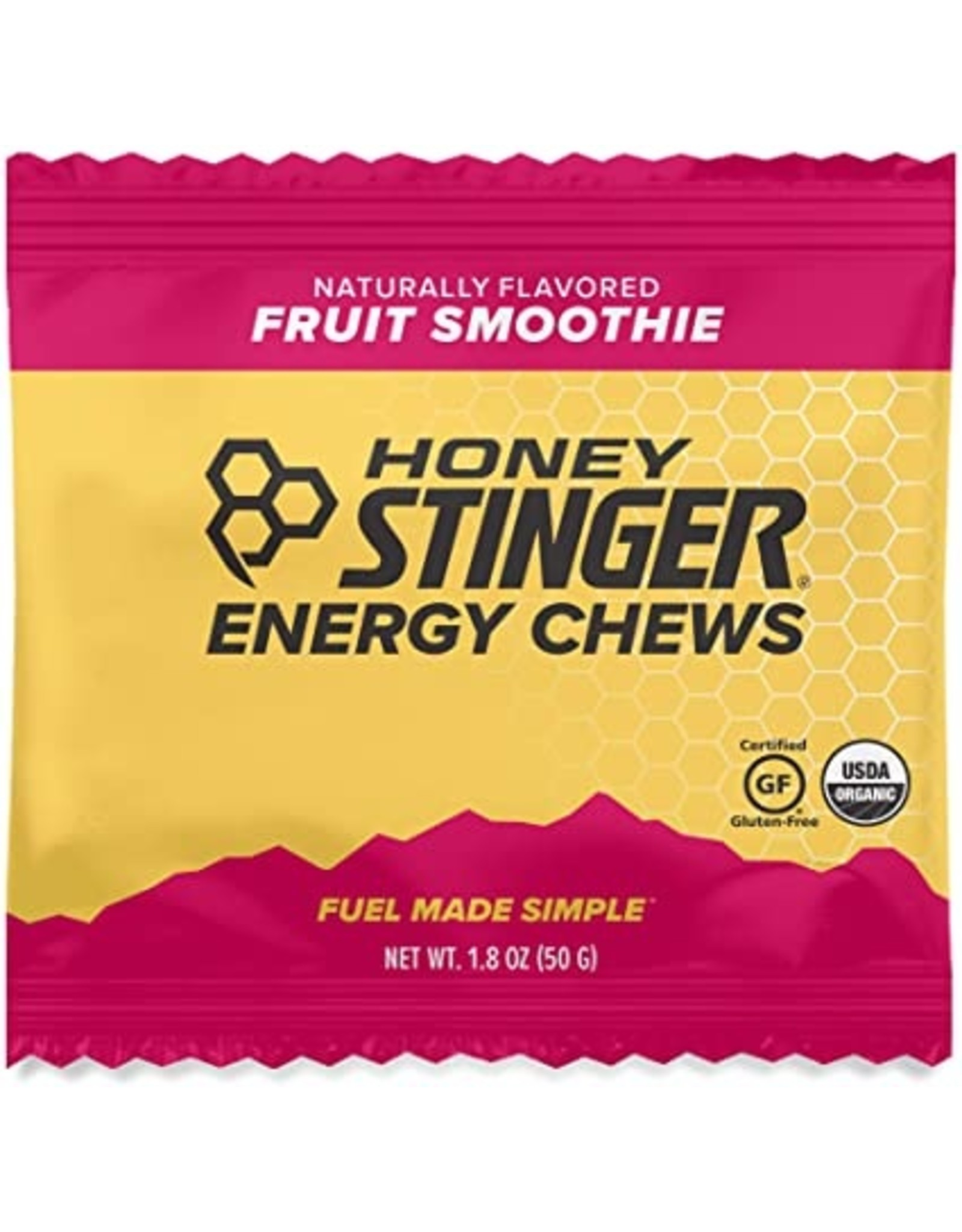Honey Stinger Honey Stinger Organic Energy Chews Fruit Smoothie