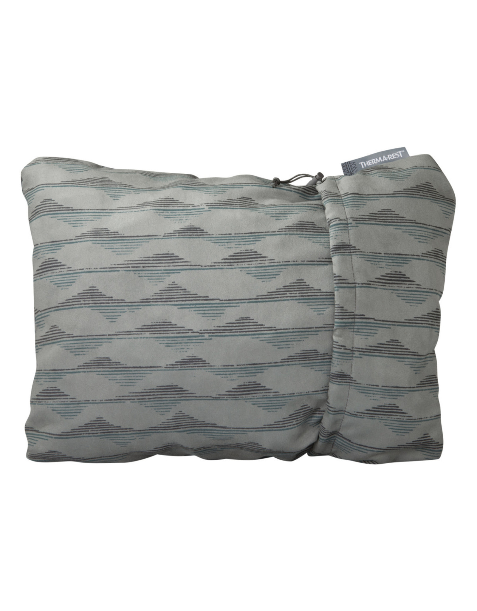 Therm-a-Rest Therm-a-Rest Compressible Pillow Gray Mountains Print Small