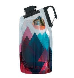 Platypus Platypus DuoLock 0.75L Bottle Red Peaks