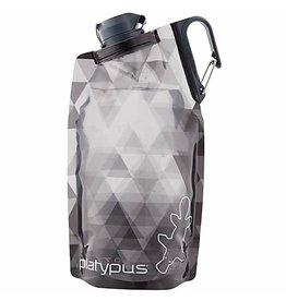 Platypus Platypus DuoLock SoftBottle Gray Prisms 1L