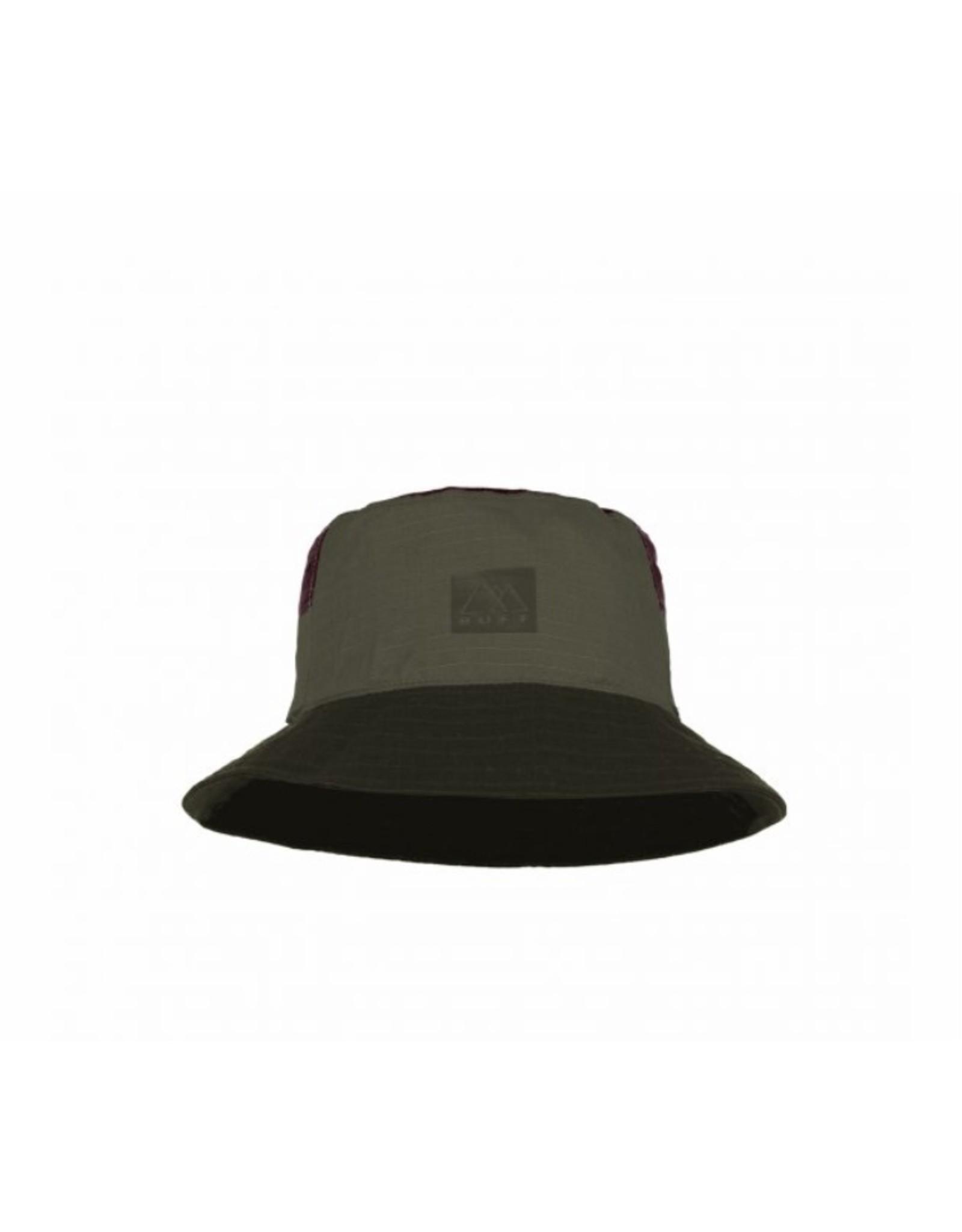 Buff Buff Sun Bucket Hat Hak Khaki L/XL