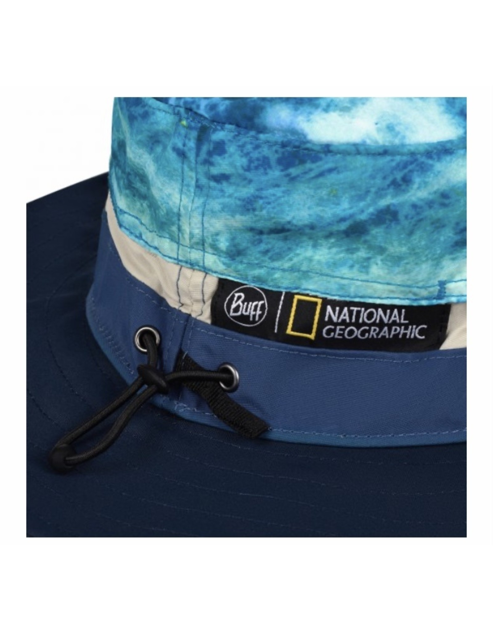 Buff National Geographic Booney Hat Zankor Blue L/XL