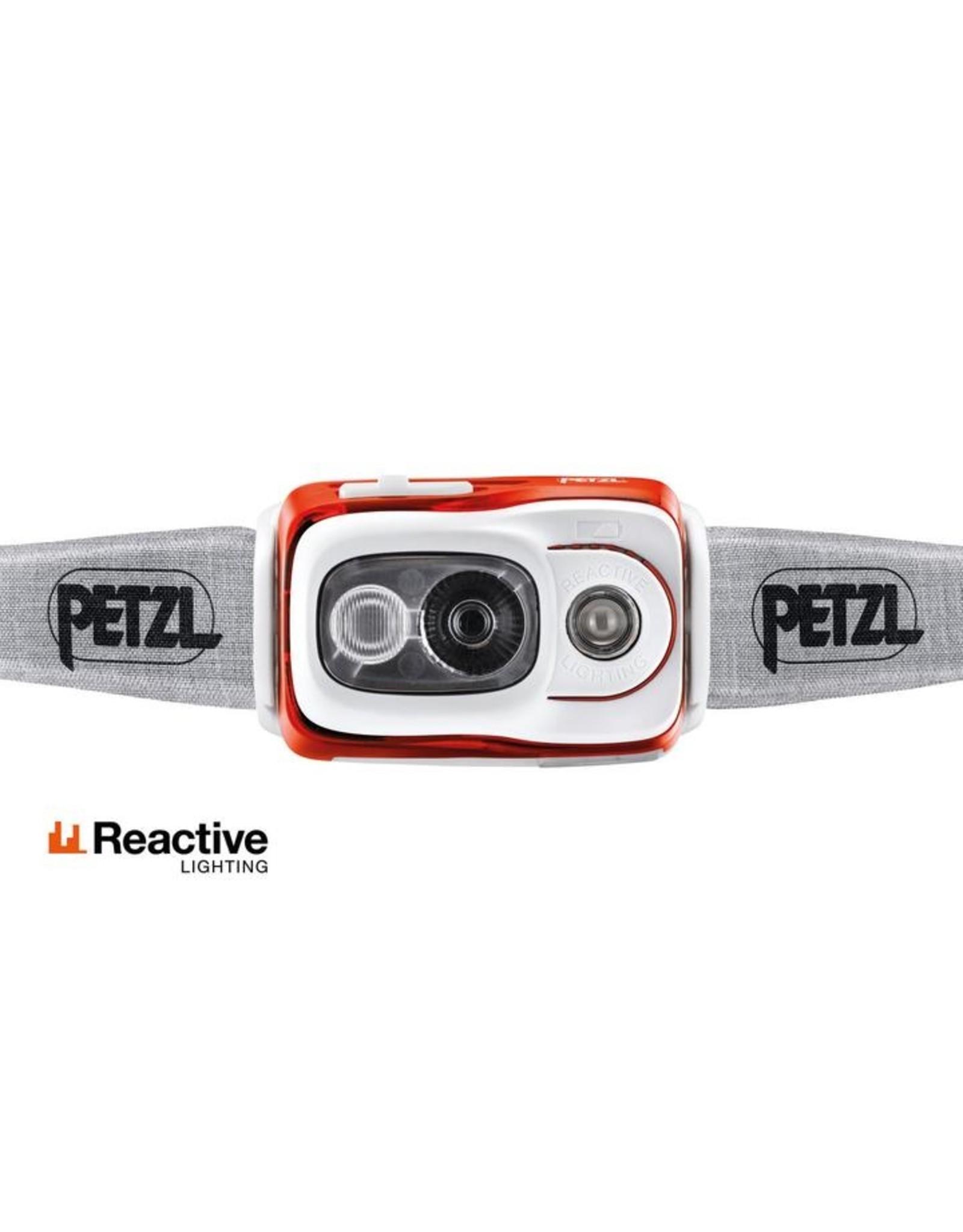 Petzl Petzl Swift RL Head Lamp Orange