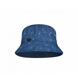 Buff Buff Sun Bucket Hat Junior Arrows Denim