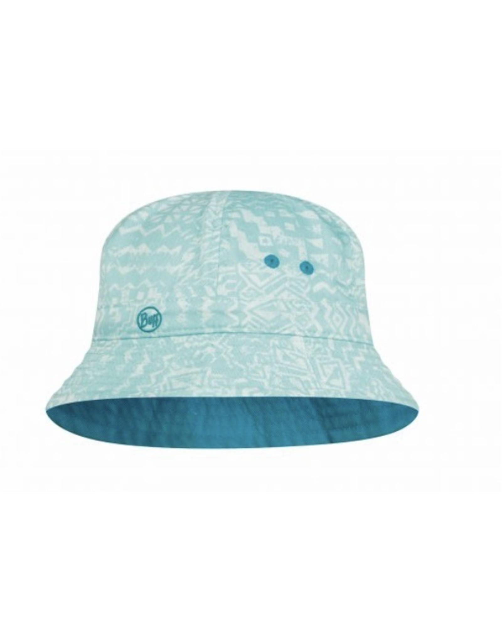Buff Buff Bucket Hat Junior Bawe Aqua