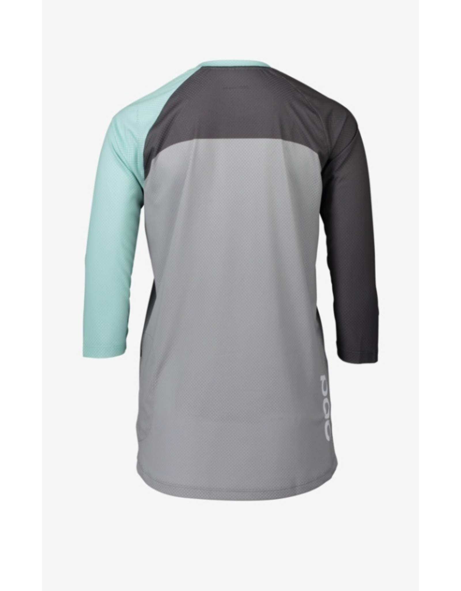 POC POC MTB Pure 3/4 Women's Jersey Lt Fluorite Green/Sylvanite Grey/Alloy Grey