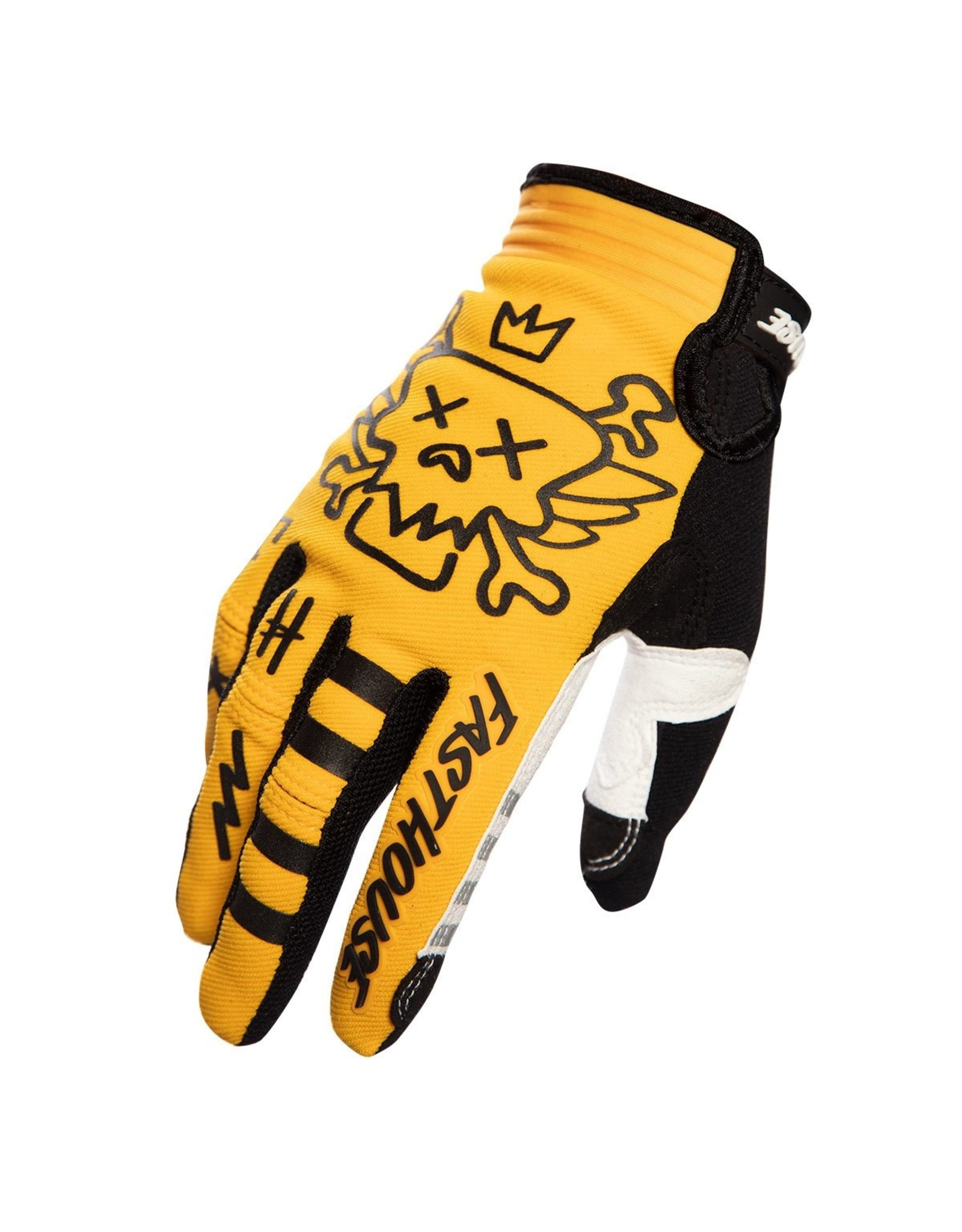 Fasthouse Fasthouse Speed Style Stomp Glove Yellow