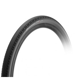 Pirelli Pirelli, Cinturato Gravel H, Tire, 700x45C, Folding, Tubeless Ready, SpeedGrip, 127TPI, Black