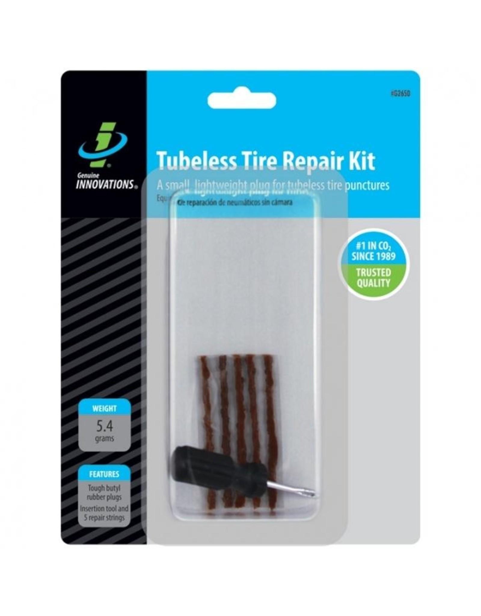 Genuine Innovations Tubeless Tire Repair Kit