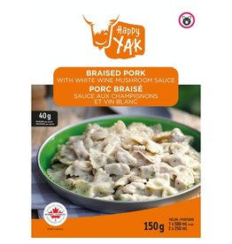 Happy Yak Happy Yak Braised Pork w/White Wine Mushroom Sauce