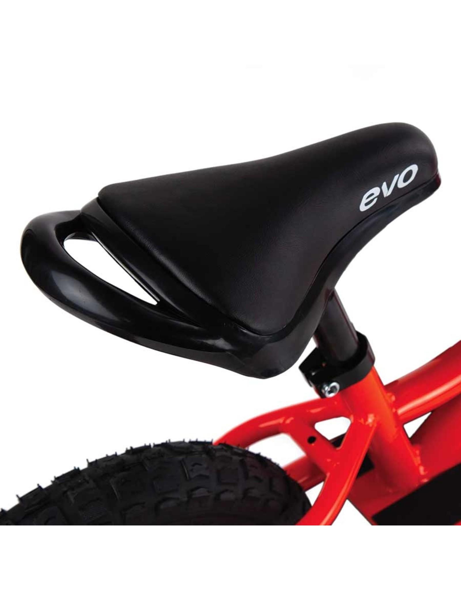 EVO EVO, Beep Beep, Push Bike, 12-1/2'', Orange Peel/Red