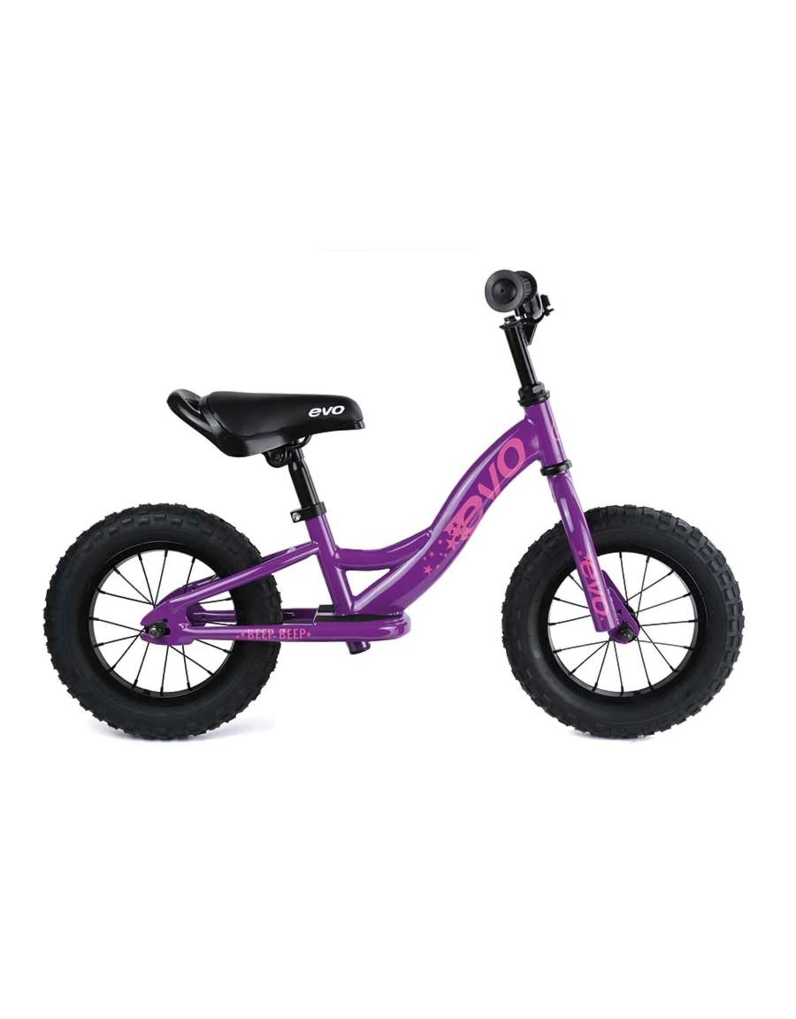 EVO EVO, Beep Beep, Push Bike, 12-1/2'', Purpling Purple