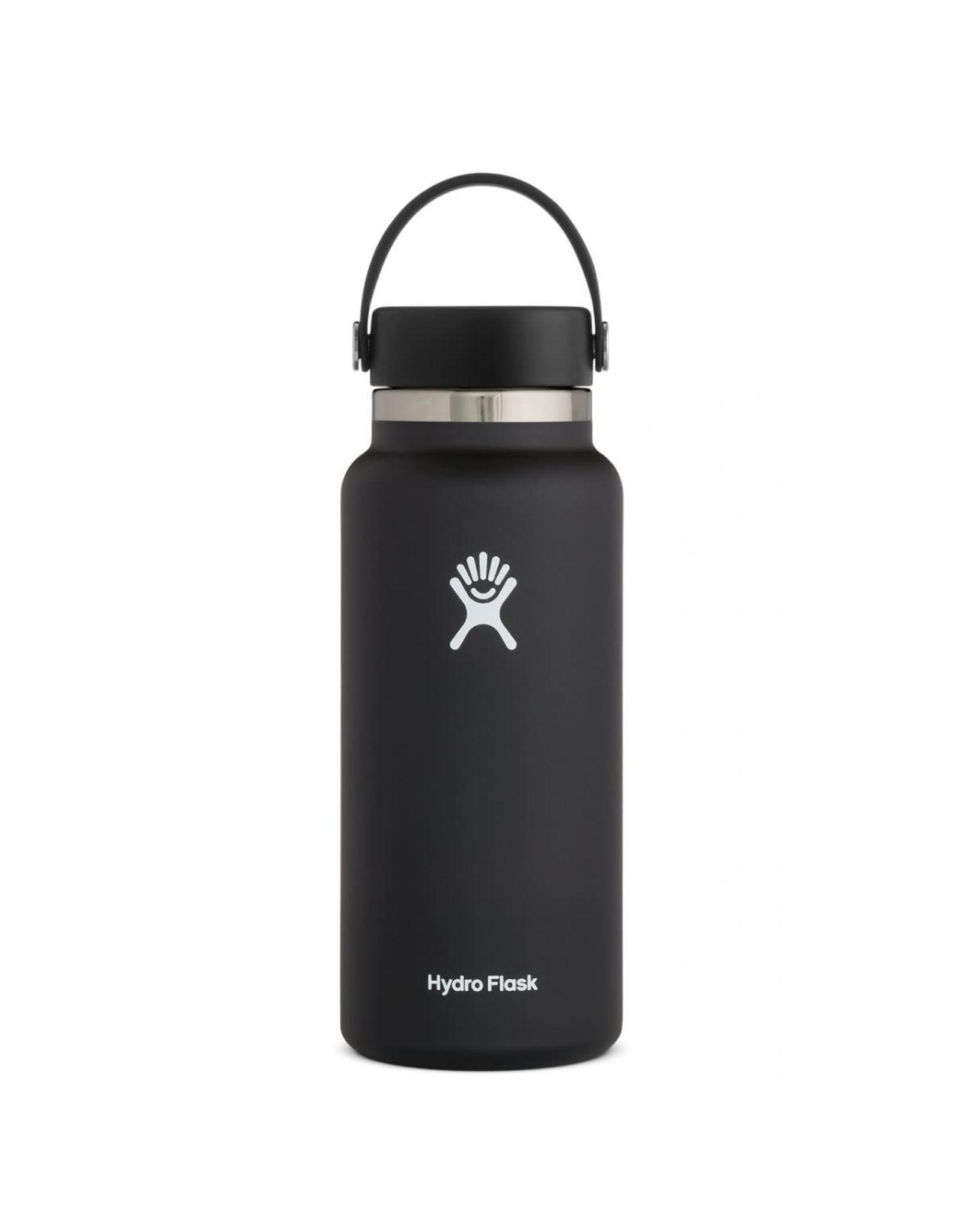 Hydro Flask Hydro Flask 32oz Wide Mouth w/ Flex Cap Black