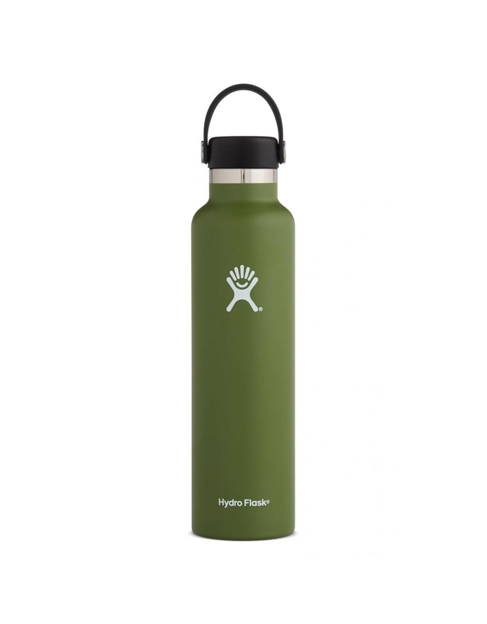 Hydro Flask Hydro Flask 24oz Standard Mouth w/ Flex Cap Olive