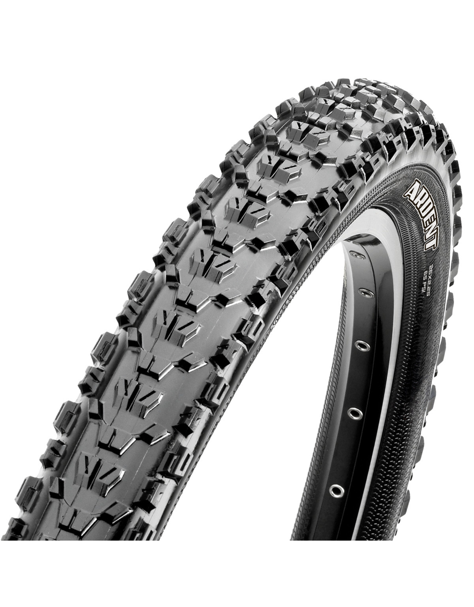 Maxxis Maxxis Ardent Tire 26''x2.40 Folding Tubeless Ready Dual EXO 60TPI Black