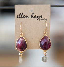Ellen Hays Gold Filled Ruby & Lab