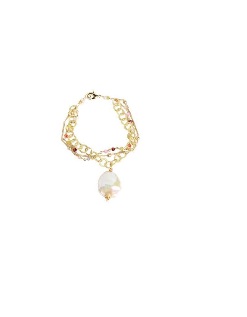 Robin Haley Multi Color Pearl Bracelet